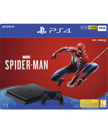 Sony PlayStation 4 - 500GB Slim + Marvel's Spider-Man