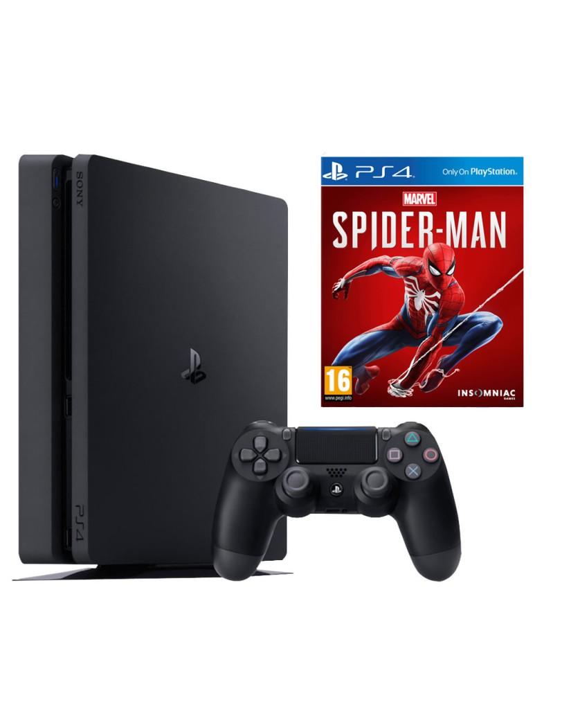 Sony PlayStation 4 - 500GB Slim + Marvel's Spider-Man