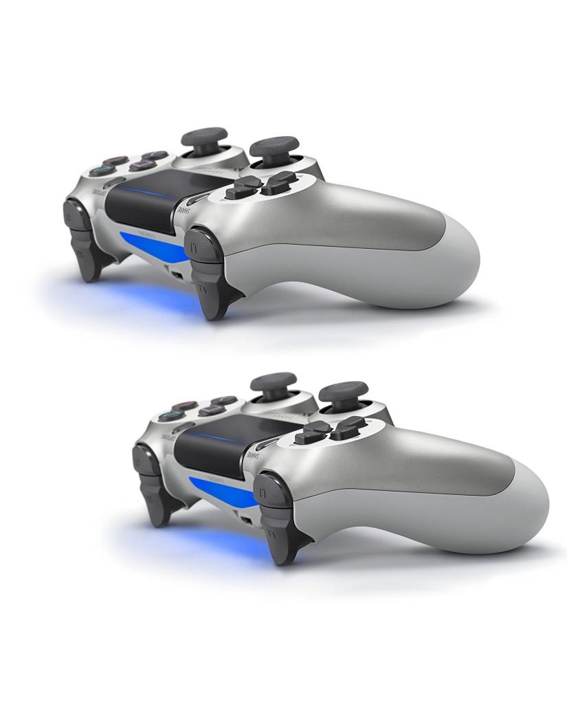 Sony PlayStation 4 - 500GB Slim Silver & 2 Χειριστήρια DualShock 4