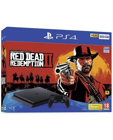 Sony PlayStation 4 - 500GB Slim + Red Dead Redemption 2