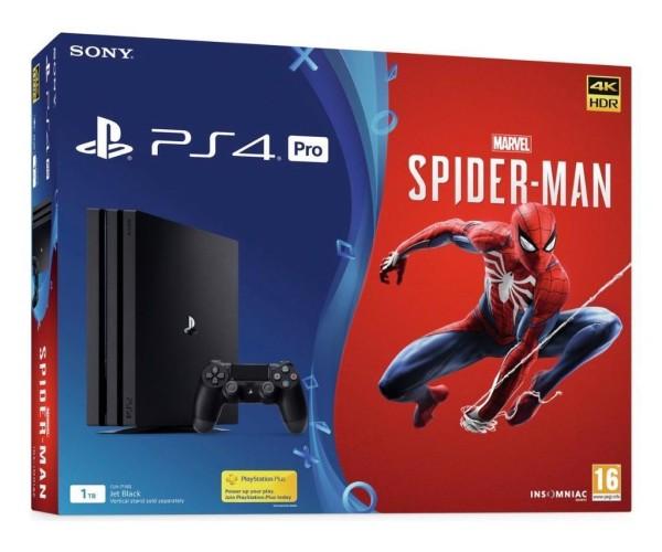 Sony PlayStation 4 Pro - 1TB + Marvel's Spider-Man