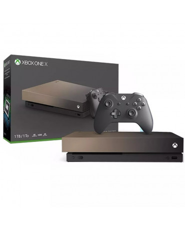 MICROSOFT XBOX ONE X ΚΟΝΣΟΛΑ GOLD RUSH SPECIAL EDITION - 1TB