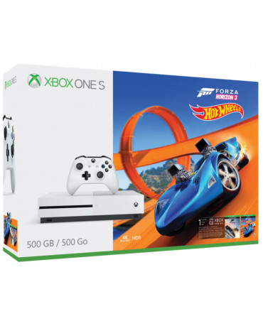 MICROSOFT XBOX ONE S ΚΟΝΣΟΛΑ - 500GB + FORZA HORIZON 3 + HOT WHEELS