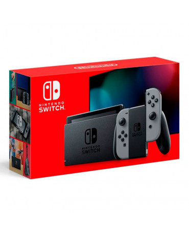 NINTENDO SWITCH CONSOLE GREY JOY-CON (NEW VERSION 2019) - 32GB