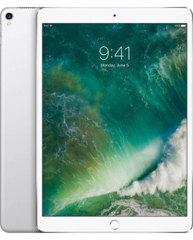 "Apple iPad Pro 2017 10.5"" WiFi (256GB) MPF02 Με Αντάπτορα - Silver"