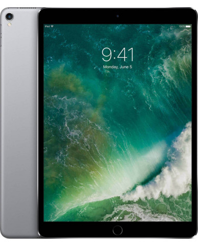 "Apple iPad Pro 2017 10.5"" WiFi (256GB) MPDY2 Με Αντάπτορα - Space Grey"