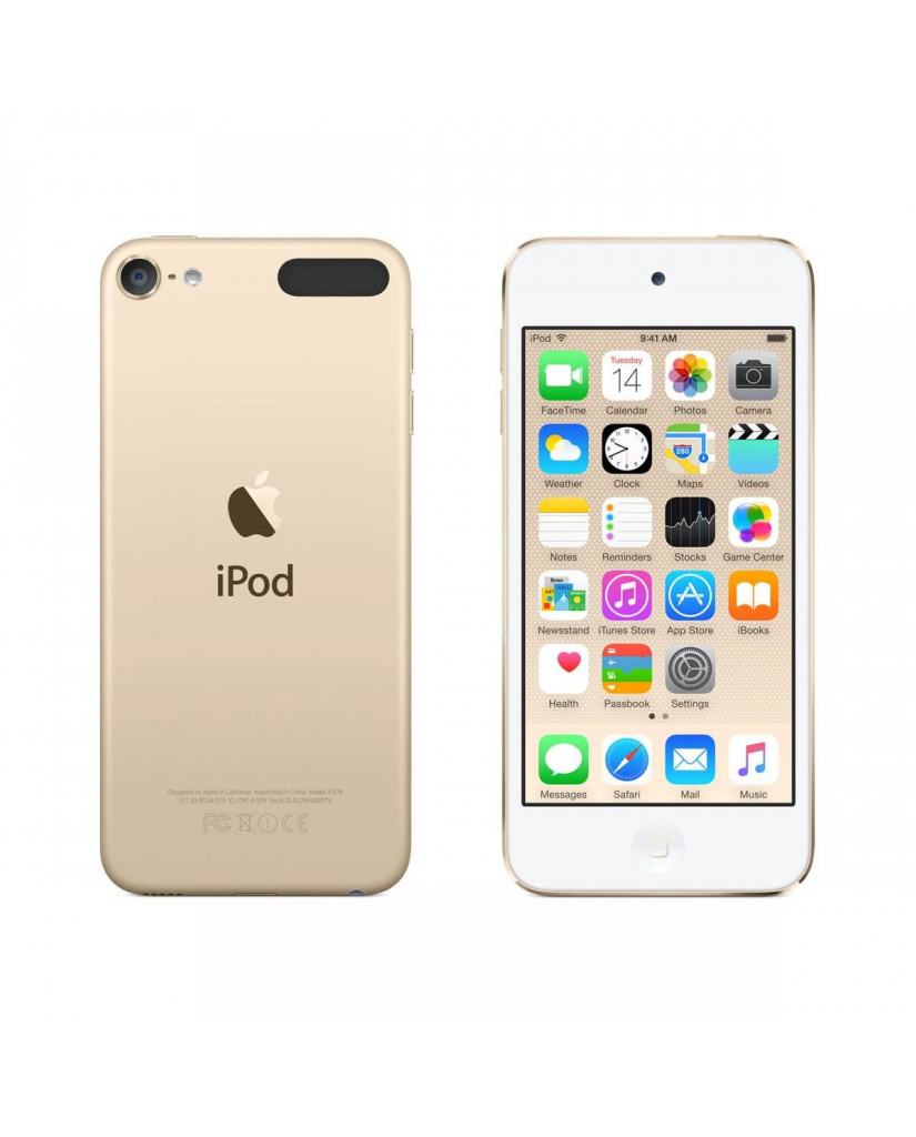 "Apple iPod Touch 4"" 128GB MP3 Player 6th Generation (MKWK2LL/A) - Gold"