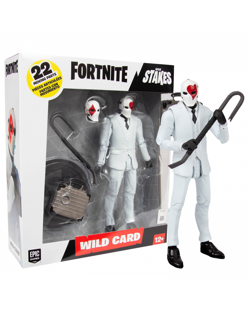 Mcfarlane Toys Fortnite - Wild Card red Action Figure (18cm)