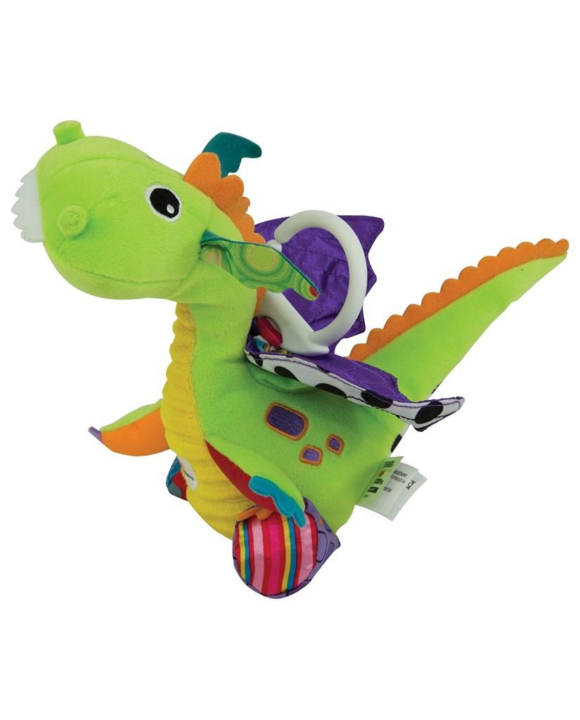Lamaze Flip Flap Δεινόσαυρος με δραστηριότητες