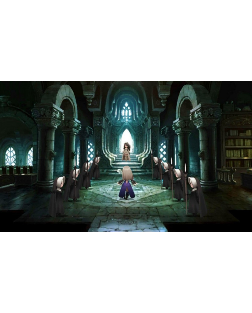 BRAVELY SECOND: END LAYER - 3DS / 2DS GAME