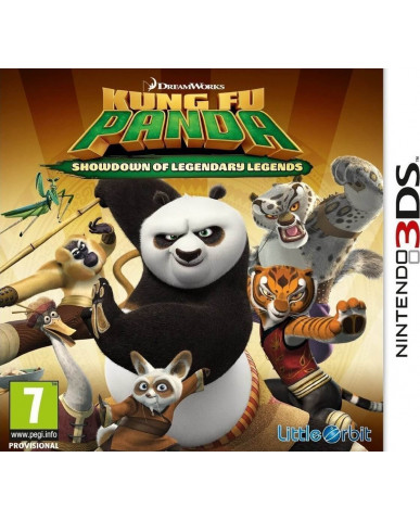 KUNG FU PANDA SHOWDOWN OF LEGENDARY LEGENDS - 3DS / 2DS GAME