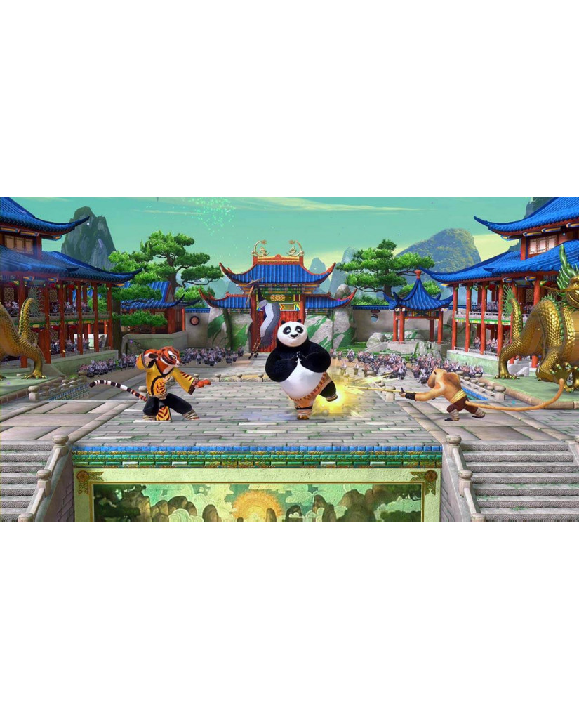 KUNG FU PANDA SHOWDOWN OF LEGENDARY LEGENDS - 3DS GAME