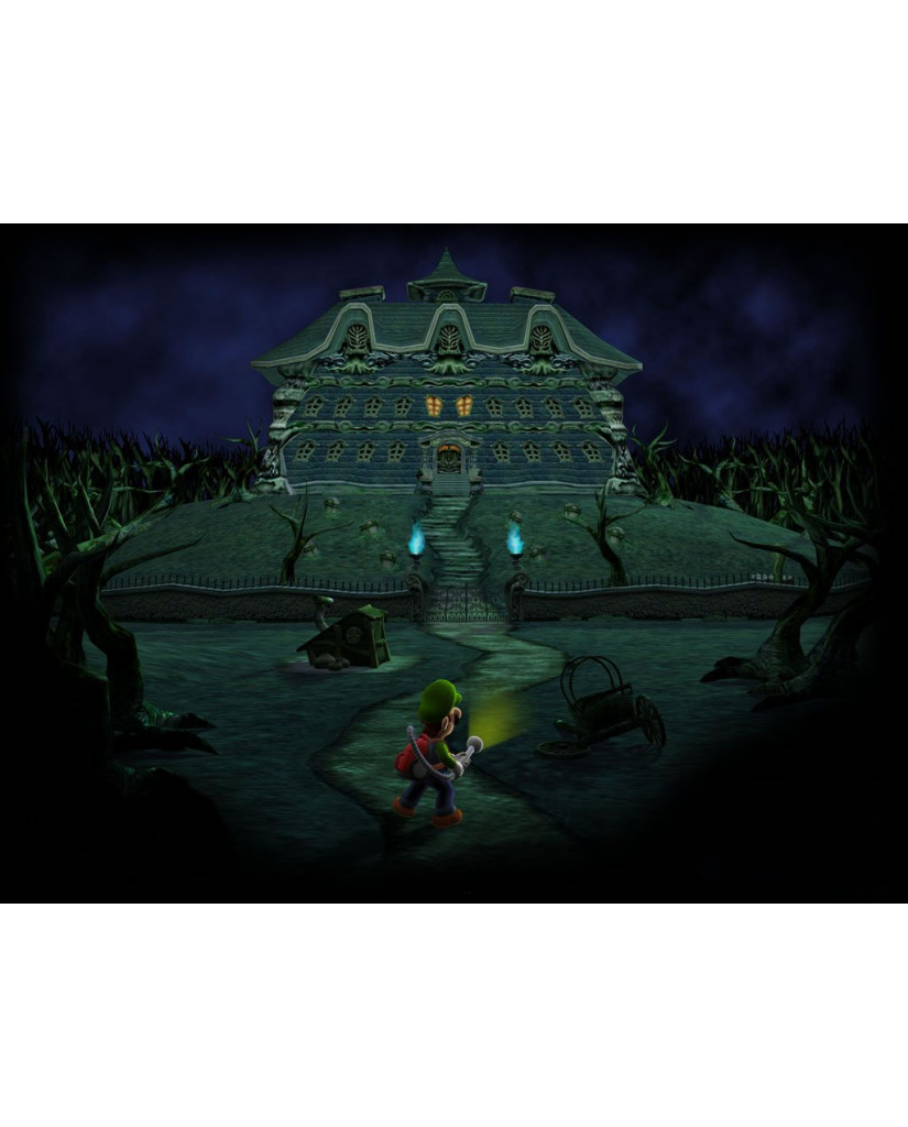 LUIGI'S MANSION - 3DS GAME