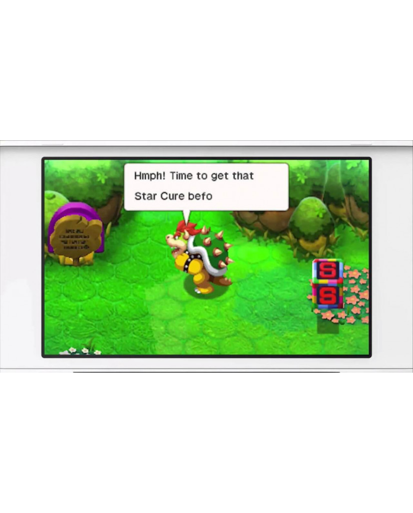 MARIO & LUIGI: BOWSER'S INSIDE STORY + BOWSER JR.'S JOURNEY - 3DS / 2DS GAME