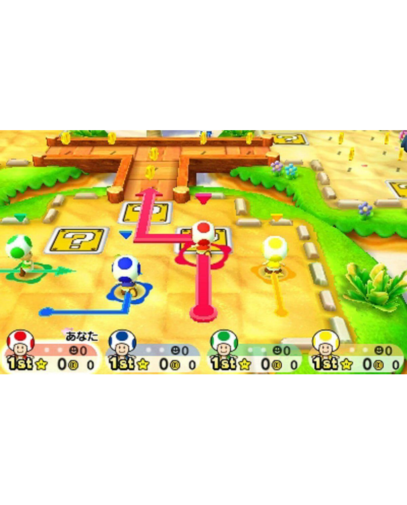 MARIO PARTY: STAR RUSH - 3DS / 2DS NEW GAME