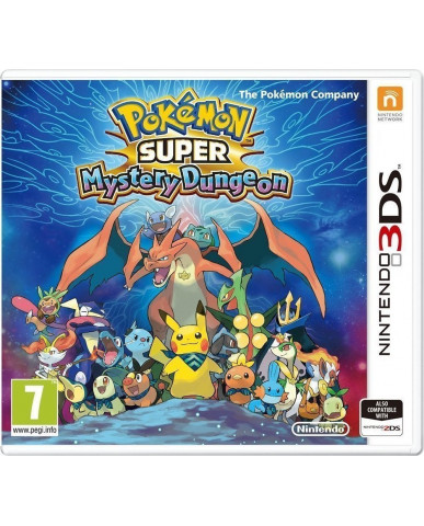 POKEMON SUPER MYSTERY DUNGEON - 3DS / 2DS GAME