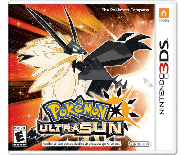 POKEMON ULTRA SUN - 3DS GAME