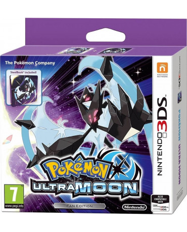 POKEMON ULTRA MOON - STEELBOOK EDITION - 3DS GAME