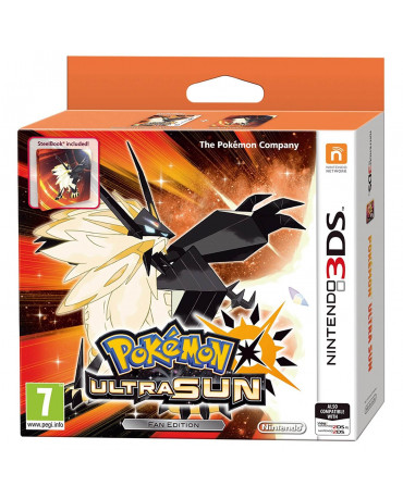 POKEMON ULTRA SUN - STEELBOOK / FAN EDITION - 3DS / 2DS GAME