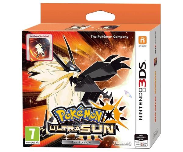 POKEMON ULTRA SUN - STEELBOOK / FAN EDITION - 3DS / 2DS GAME
