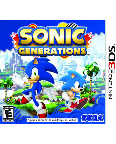 SONIC GENERATIONS - 3DS GAME