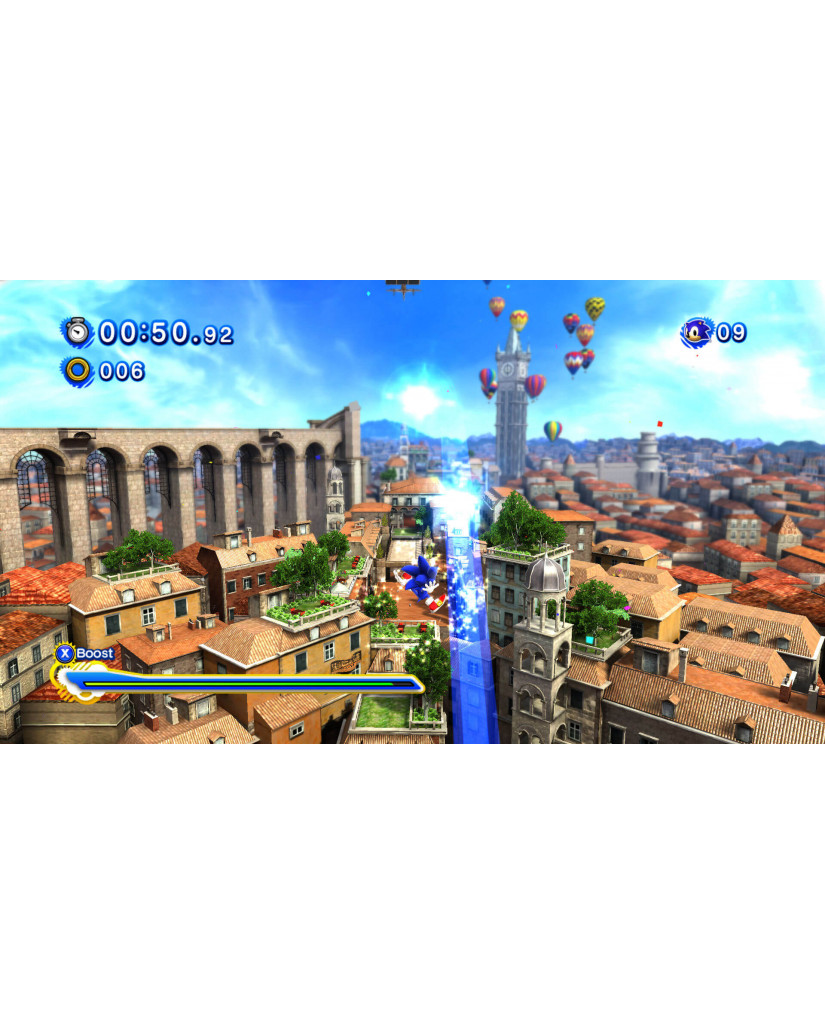 SONIC GENERATIONS - 3DS / 2DS GAME