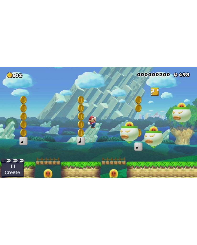 SUPER MARIO MAKER SELECTS - 3DS / 2DS GAME