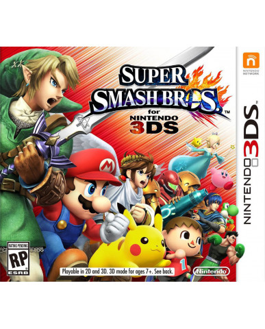 SUPER SMASH BROS - 3DS / 2DS GAME