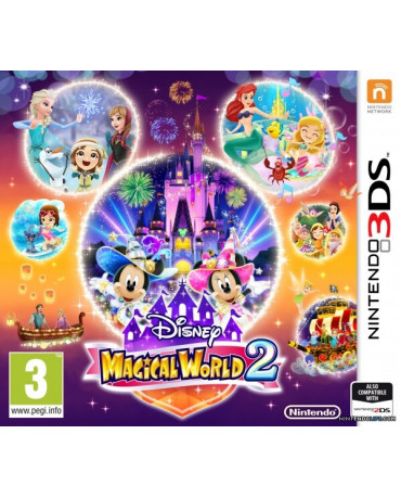 DISNEY MAGICAL WORLD 2 - 3DS GAME