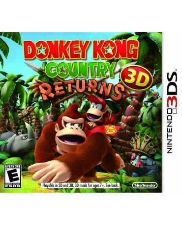 DONKEY KONG COUNTRY RETURNS - 3DS GAME