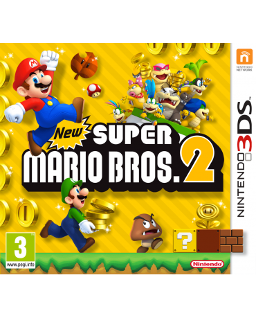 NEW SUPER MARIO BROS 2 - 3DS GAME
