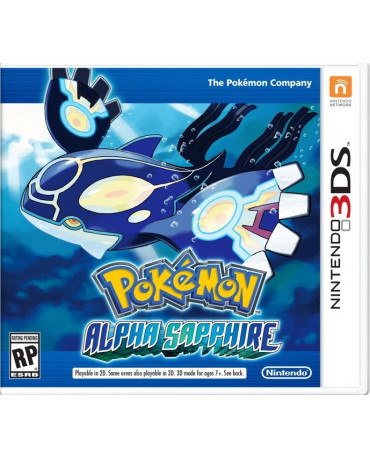 POKEMON ALPHA SAPPHIRE - 3DS / 2DS GAME