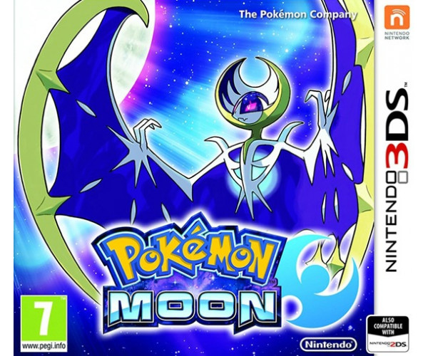 POKEMON MOON - 3DS / 2DS GAME