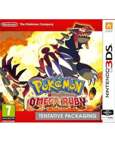 POKEMON OMEGA RUBY - 3DS / 2DS GAME