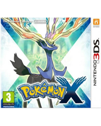 POKEMON X - 3DS / 2DS GAME