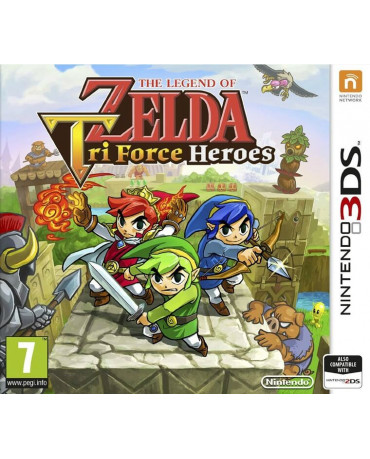 THE LEGEND OF ZELDA TRIFORCE HEROES - 3DS / 2DS GAME