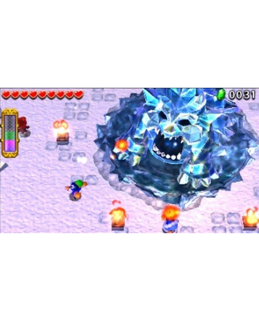 THE LEGEND OF ZELDA TRIFORCE HEROES - 3DS / 2DS GAME