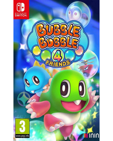 BUBBLE BOBBLE 4 FRIENDS - NINTENDO SWITCH GAME