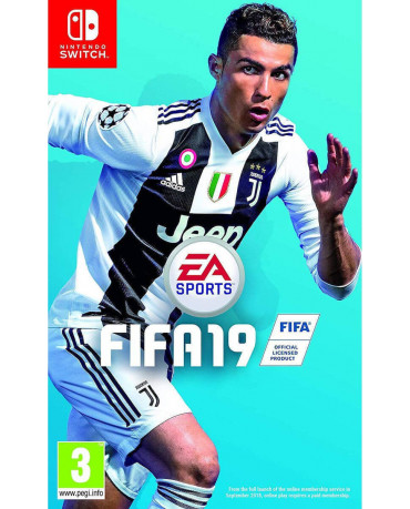 FIFA 19 + ΔΩΡΟ ΑΓΑΛΜΑΤΑΚΙ NEYMAR JR - NINTENDO SWITCH NEW GAME
