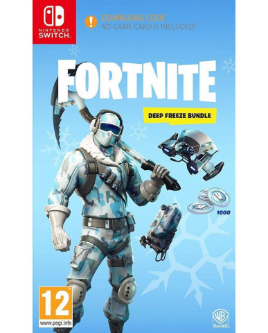 FORTNITE DEEP FREEZE BUNDLE - NINTENDO SWITCH NEW GAME