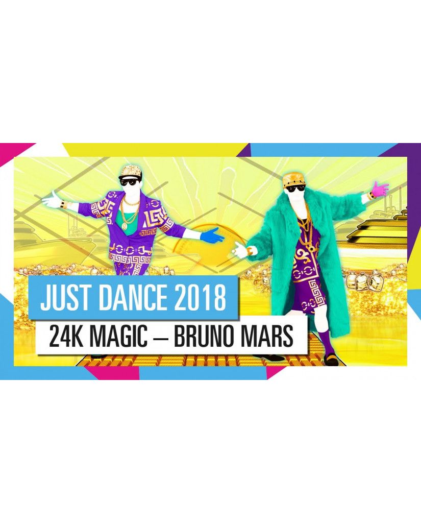 JUST DANCE 2018 - NINTENDO SWITCH GAME