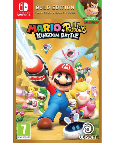 MARIO + RABBIDS: KINGDOM BATTLE GOLD EDITION - NINTENDO SWITCH GAME