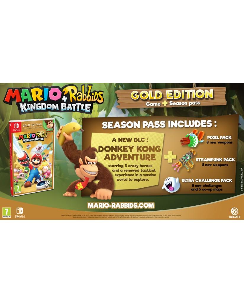 MARIO + RABBIDS: KINGDOM BATTLE GOLD EDITION - NINTENDO SWITCH GAME