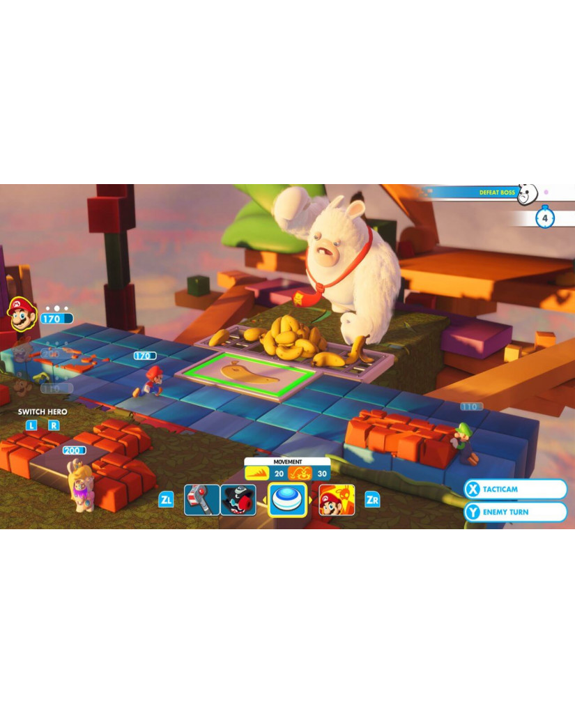 MARIO + RABBIDS: KINGDOM BATTLE - NINTENDO SWITCH GAME