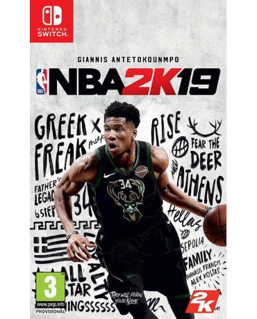 NBA 2K19 - NINTENDO SWITCH GAME