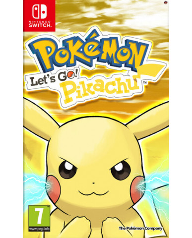 POKEMON: LET'S GO PIKACHU! - NINTENDO SWITCH GAME