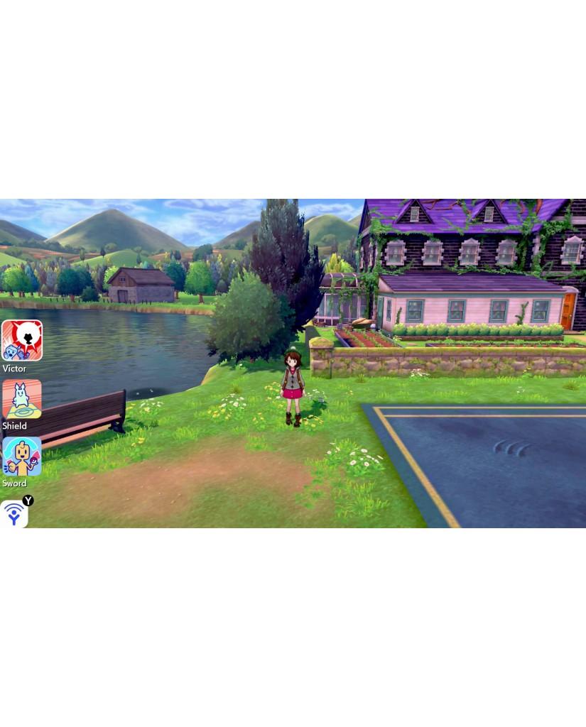 POKEMON SHIELD - NINTENDO SWITCH GAME