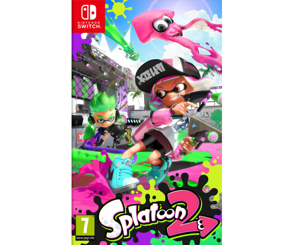 SPLATOON 2 - NINTENDO SWITCH GAME