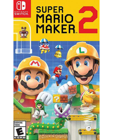 SUPER MARIO MAKER 2 - NINTENDO SWITCH GAME