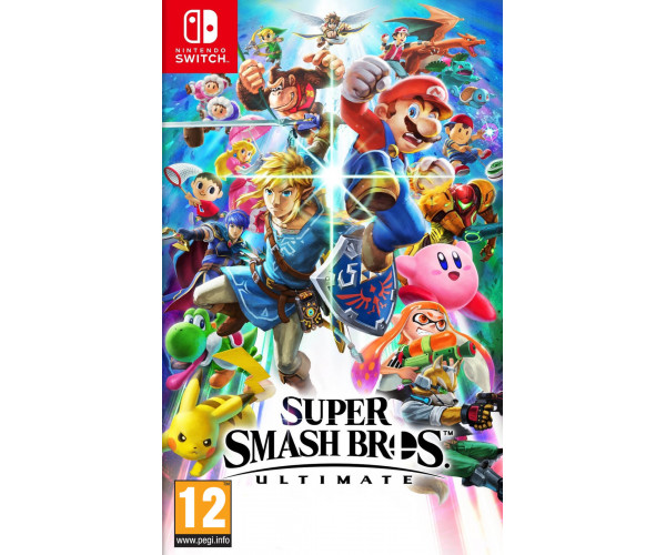 SUPER SMASH BROS. ULTIMATE - NINTENDO SWITCH GAME